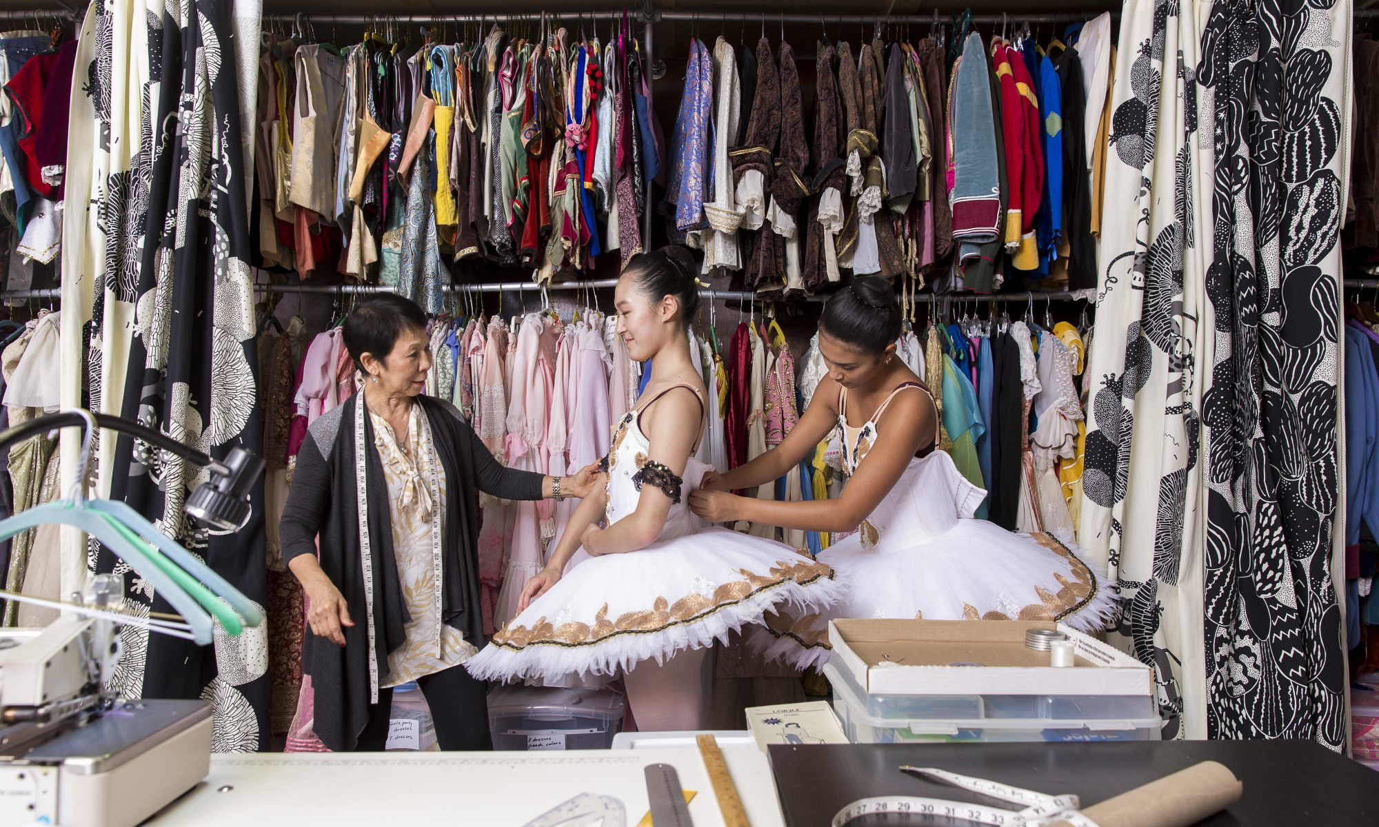 QUYNH'S ROLE AS HEAD OF WARDROBE
